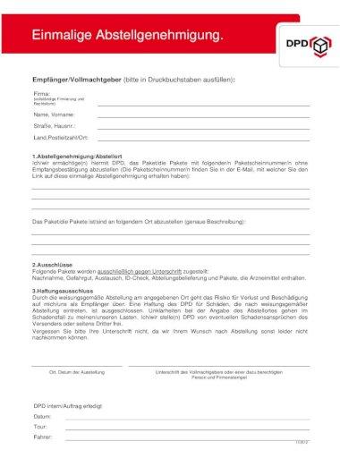 Abstellgenehmigung Fur Hermes Erteilen Oder Kundigen 0