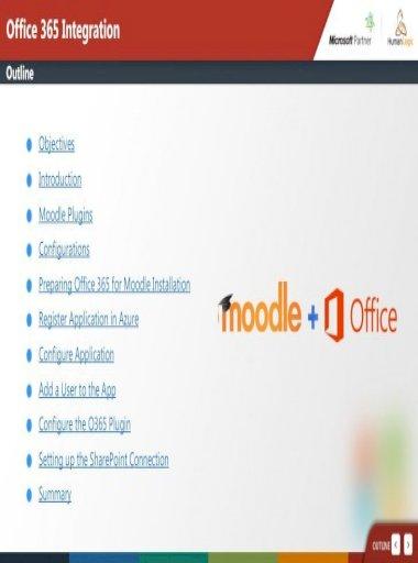 Moodle office 365 plugin