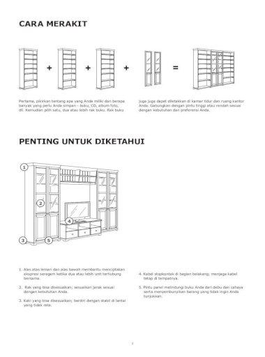 Tips Cara Merakit Lemari Ikea paling mudah