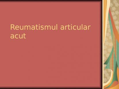 tratament de tip articular 2a