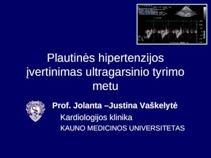 hipertenzijos patofiziologija