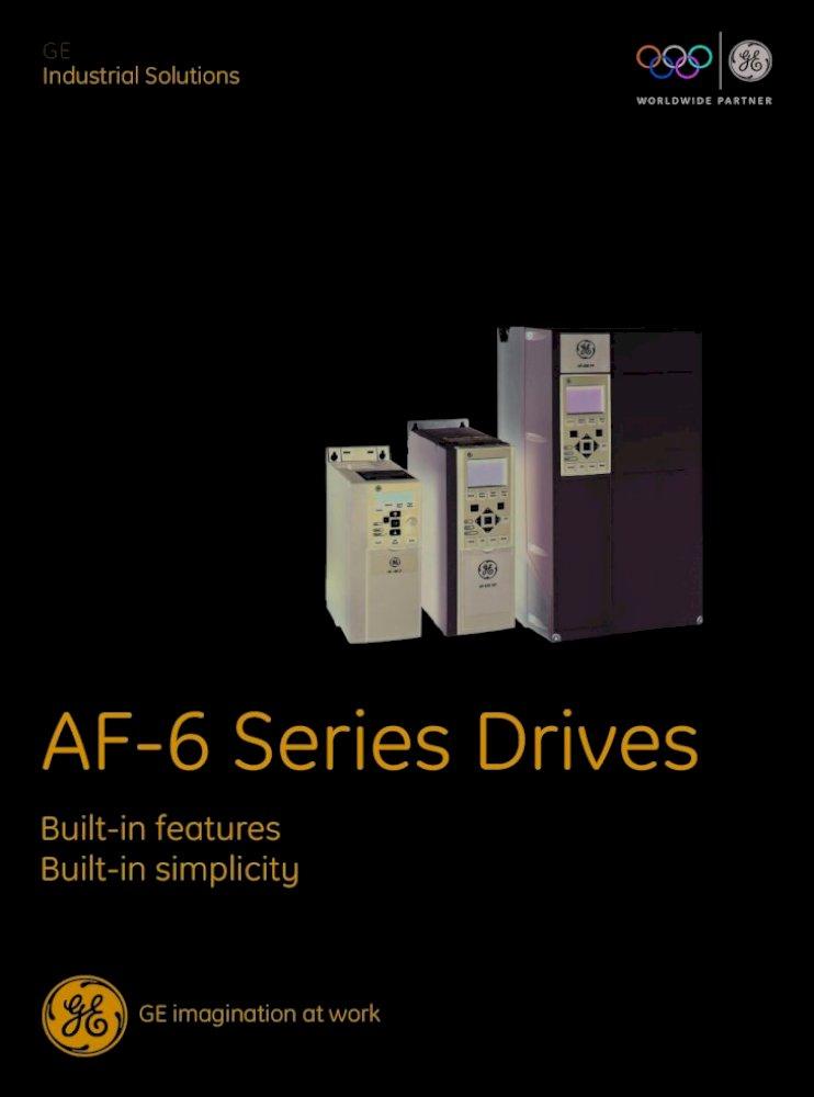 GENERAL ELECTRIC GE AF-600 FP ADJUSTABLE SPEED DRIVE 6KFP43005X9XXXA1 4 kW 5 HP