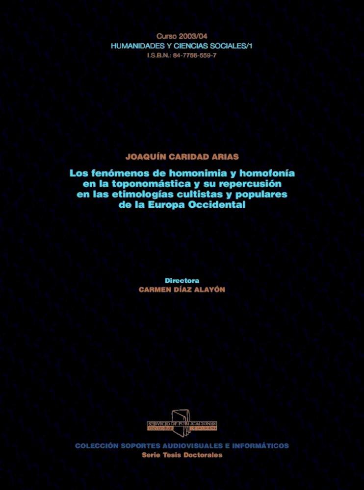 Fen Menos De Homonimia Epub Sub Uni Joaqun Caridad Arias 3