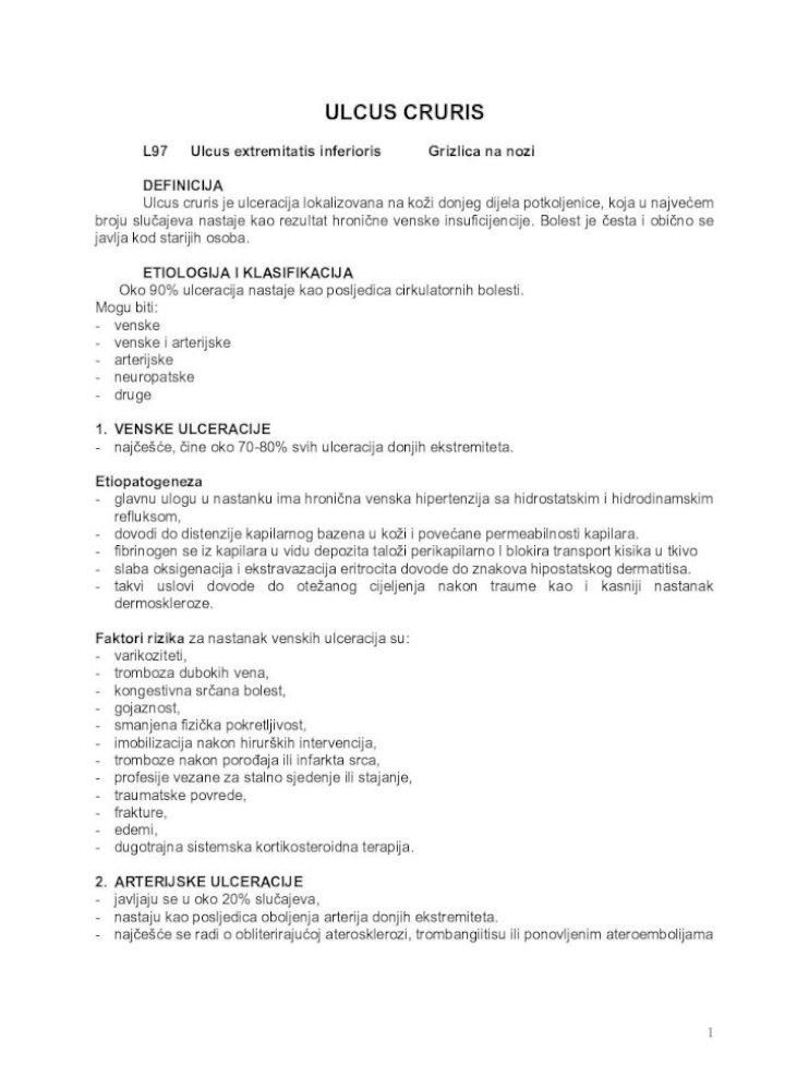 Giliųjų venų trombozė | OrionPharma