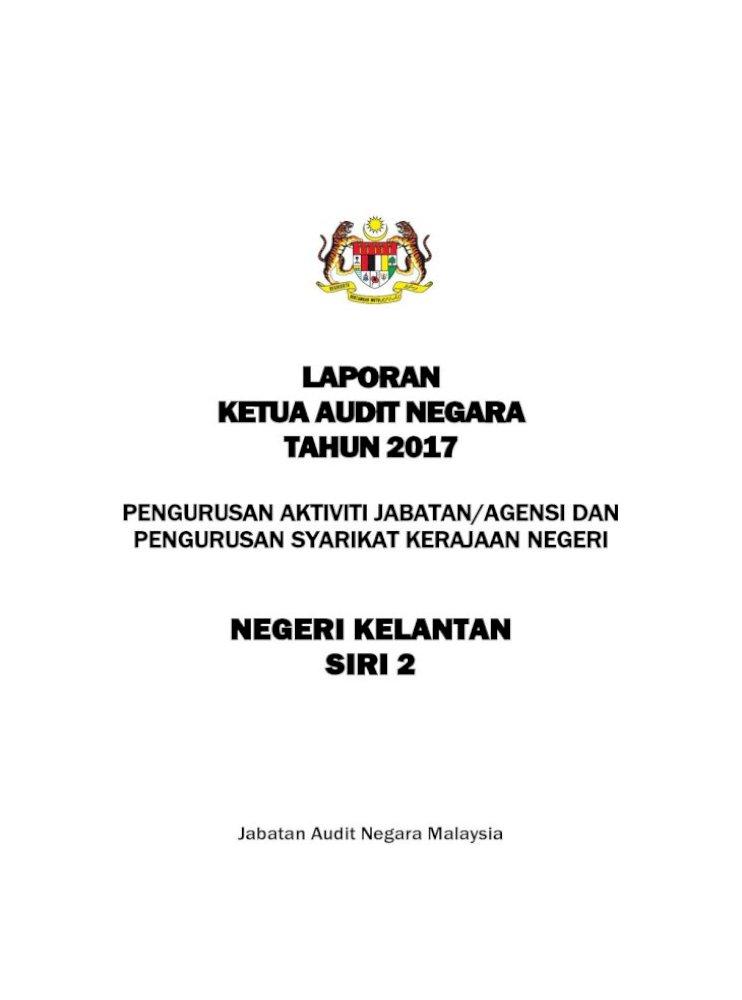 Laporan Ketua Audit Negara 2017