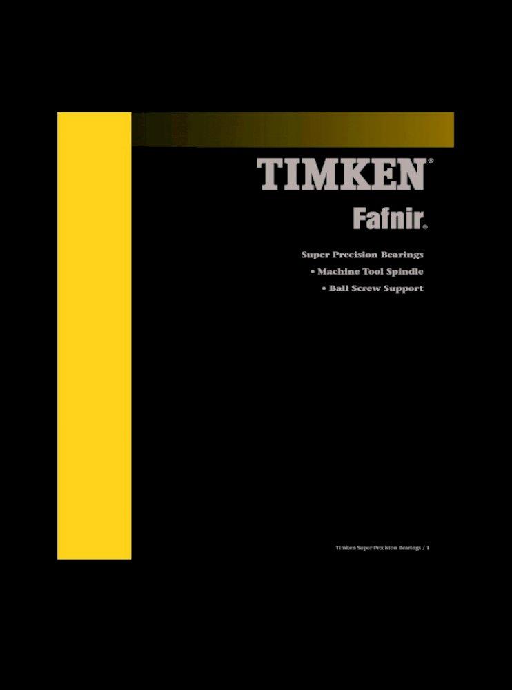 Timken Precision Thrust Bearing 2MM9107WI DUL