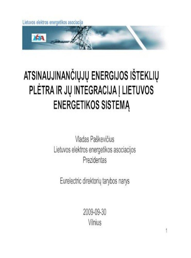 energetikos sistemų prekybos asociacija