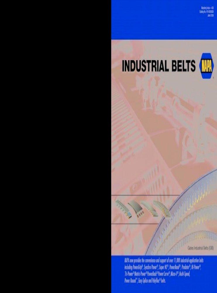 NAPA AUTOMOTIVE B190 Replacement Belt