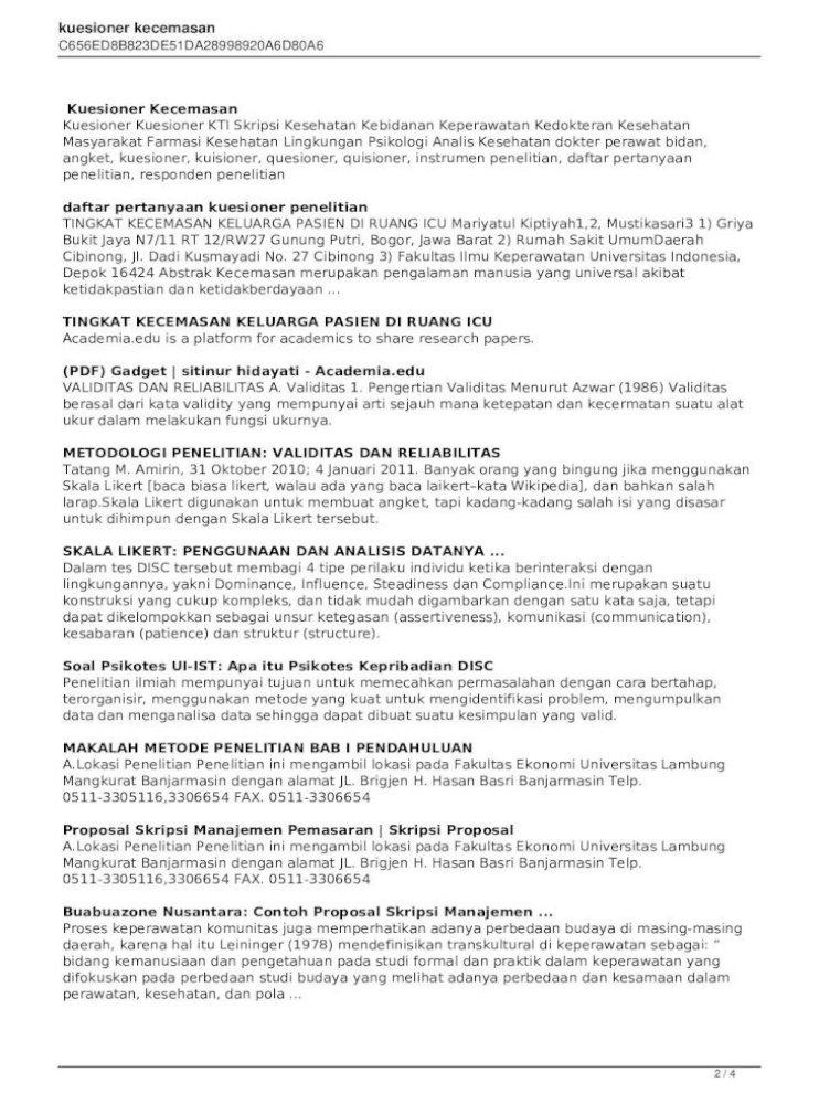 Proposal Skripsi Manajemen Pemasaran Pdf Gambaran