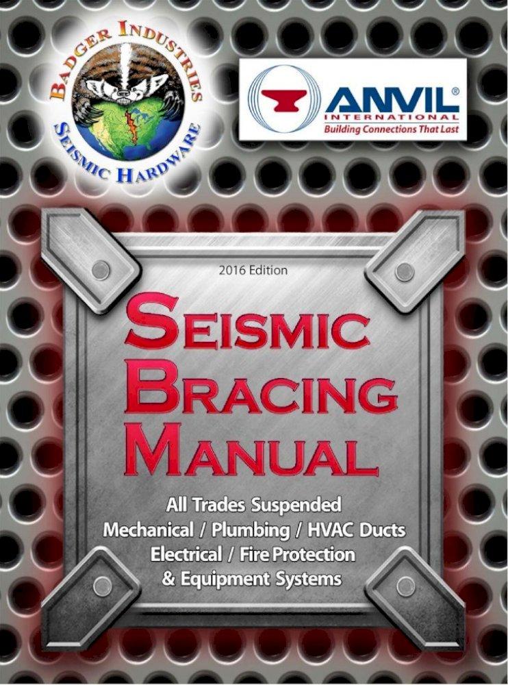 Badger Seismic Manual - / BADGER INDUSTRIES and ANVIL ...