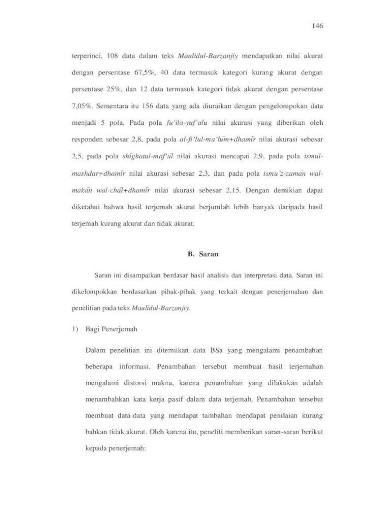 Bab Iv Penutup A Kesimpulan Pasif Berupa Prefiks Di Analisis Wacana Pengantar Analisis Teks Media Arabic Translation Of English Passive Sentences
