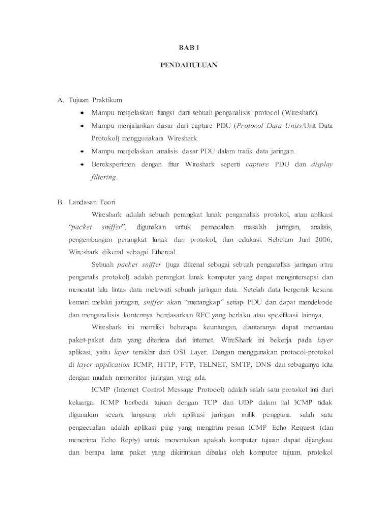 Laporan Praktikum Jaringan Komputer