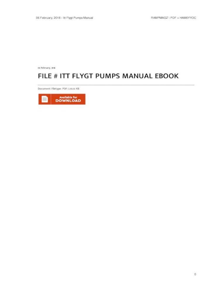 file  itt flygt pumps manual ebook pdf  set screw versions